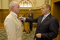 Minister Wayne Mapp presents Medal to Mr Stuart Ingham - Flickr - NZ Defence Force.jpg