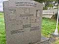 Minnestøtte (Memorial stone) Norrønafolket det vil fare (The Norsemen sailed and settled) ved Emigrantkyrkja (Brampton Lutheran Church, North Dakota) & Vestnorsk utvandringssenter i Radøy, Hordaland, Norway 2017-10-03 a.jpg