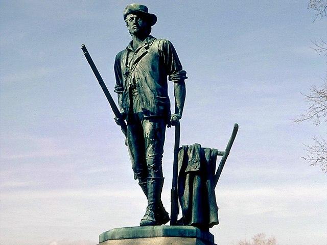 Minute Man, Daniel Chester French, Concord MA