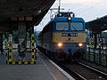 Miskolc, nádraží, lokomotiva V43.jpg