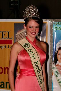 Alexandra Braun Venezuelan TV show host, actress, model and Miss Earth 2005