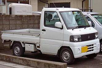 Mitsubishi Minicab - Image: Mitsubishi Minicab 2000