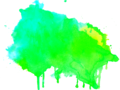 Mixing paints cyan and yellow.png
