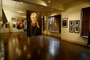 M.J. Alexander - Portraits of centenarians by M.J. Alexander on display in the Tulsa World Gallery of the Oklahoma Heritage Association.
