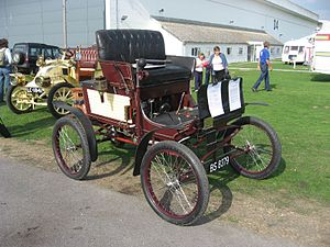 Mobile Company of America - Image: Mobile steam car 1900 (1351558466)