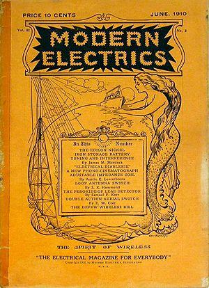 Modern Electrics - Modern Electrics, June 1910