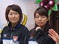 Moe Meguro and Mari Motohashi.jpg