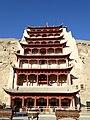 Mogao Caves Dunhuang Gansu China 敦煌 莫高窟 - panoramio (3).jpg