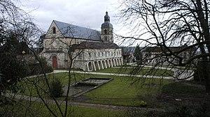 Hautvillers - Abbey of Saint-Pierre