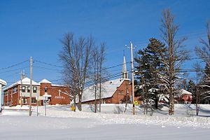 Mont-Saint-Michel, Quebec - Image: Mont St Michel QC 1