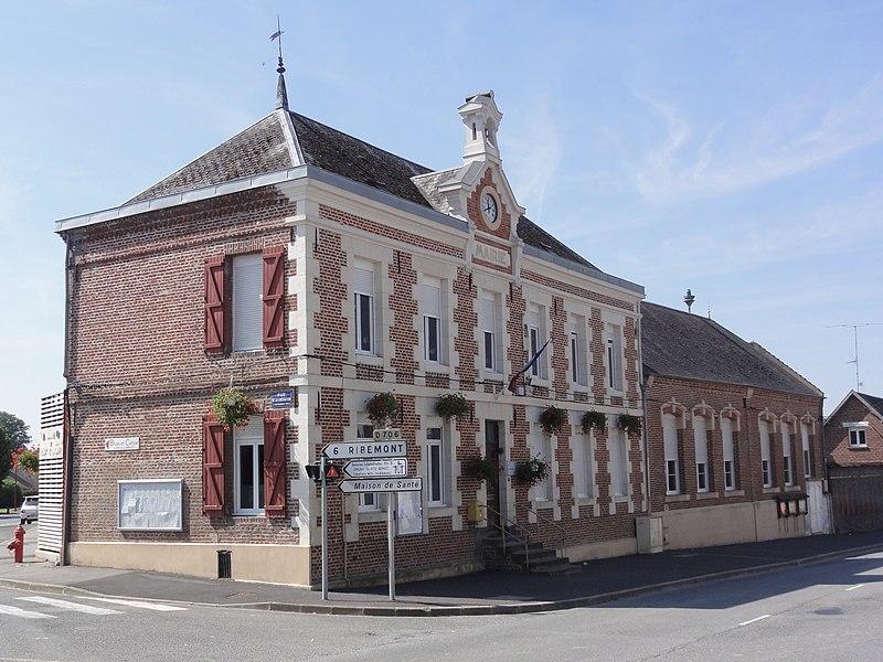 Mont-d'Origny (Aisne) mairie