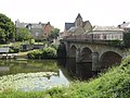 Montbizot (Sarthe) la Sarthe avec pont.jpg