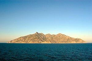 Montecristo - Image: Montecristo islet