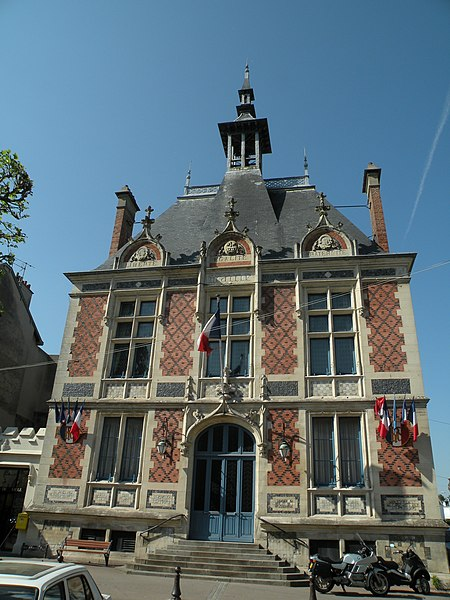 Town hall of Montivilliers.