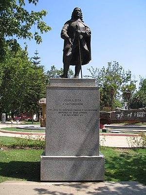 Quillota - MonumentoFundadorQuillota