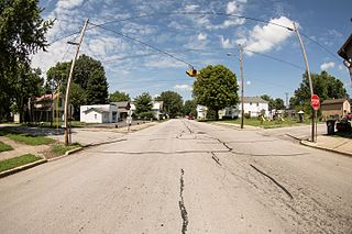 Mooreland, Indiana Town in Indiana, United States