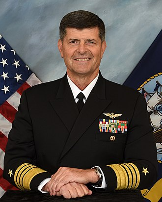 Vice Chief of Naval Operations - Image: Moran 2016 2