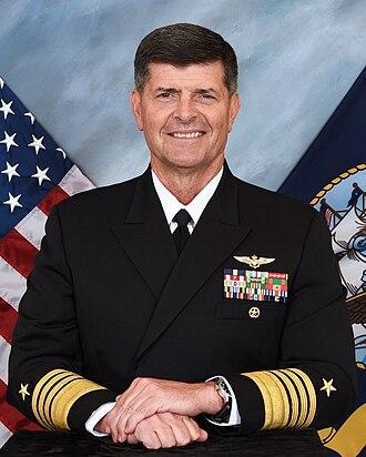 William F. Moran (admiral) - Moran in September 2016