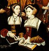 Detail of The Family of Sir Thomas More by Rowland Lockey, after Hans Holbein the Younger, 1592