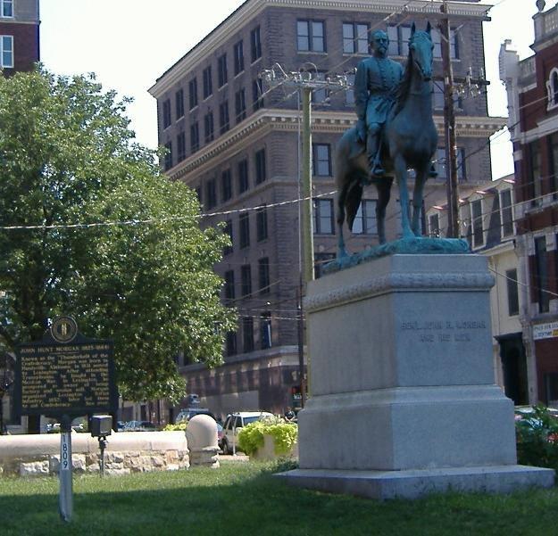 Morgan Lexington statue