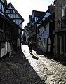 Morning sun on Fish Street, Shrewsbury - geograph.org.uk - 2153348.jpg