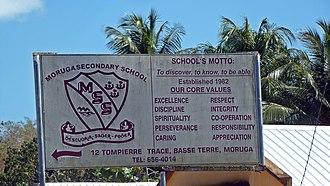 Moruga - Moruga - Secondary school