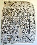 Mosaico pavimentale con eros su un delfino, da rodi centro, IV sec ac..JPG
