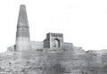Moschee bei Turfan Le Coq 1916 Tafel 3 Figur 1.png