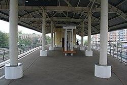 Moscow Monorail Milashenkova station 2.jpg