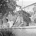 Moshe Sharett, de eerste minister van buitenlandse zaken van de staat Israel, tu, Bestanddeelnr 255-1436.jpg