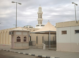 The event of Ghadir Khumm - Mosque at Johfah near Rabigh, the Hejaz, Saudi Arabia. The event is reported to have occurred somewhere here.