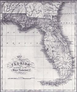 mosquito county florida map