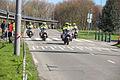 Motoragenten in colonne tijdens marathon Rotterdam.jpg