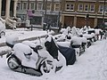 Motorcycles in the snow - geograph.org.uk - 1229232.jpg