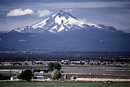 Mount Jefferson in Oregon
