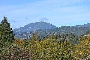 Mount Saint Helena - Image: Mount Saint Helena 2