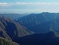 Mount Shomugen and Hatanagi-I Dam from Mount Kamikochi.jpg