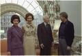 Mrs. Hyman Rickover, Rosalynn Carter, Admiral Hyman Rickover, President Carter - NARA - 173579.tif
