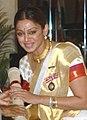Ms. Shobana Chandrakumar, a well-known Classical dancer, Choreographer teacher and actress, in 2006 (cropped).jpg