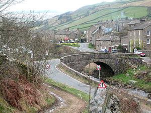 Muker - Image: Muker Village Looking West(Dennis Turner)Apr 2004