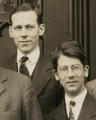 Friedrich Hund - Robert Mulliken and Friedrich Hund, Chicago, 1929