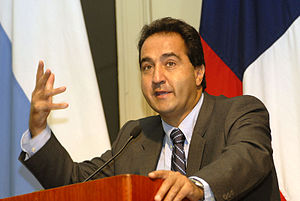 Pablo Zalaquett - Zalaquett in a 2009 ceremony as mayor of Santiago