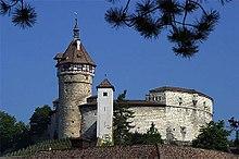 Festung Munot in Schaffhausen, entspricht Festungsideen von Dürer (Quelle: Wikimedia)
