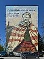 Mural of Vasil Levski in Botevgrad.jpg