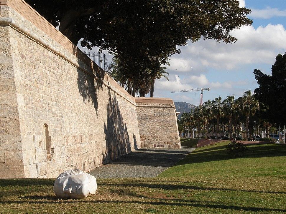 Muralla de Carlos III (Muralla del Mar)