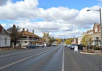 Murrumburrah - Albury Street, the main street of Murrumburrah
