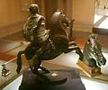 Museo archeologico di Firenze, Cavaliere, III sec. ac., cavallo aggiunto da Benvenuto Cellini 2.JPG
