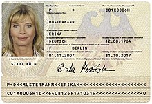 German passport - Wikipedia