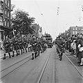 Muziekkorps van het regiment The Seaforth Highlanders of Canada Doedelzakspeler, Bestanddeelnr 900-4784.jpg