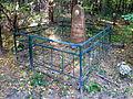 Myliatyn Ivanychivskyi Volynska-grave of Burykin-general view.jpg